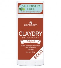 Clay Dry Bold - Original Vegan Deodorant 2.8oz.