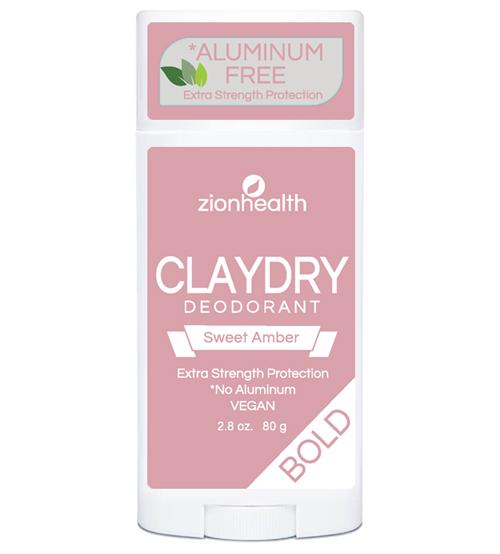 Clay Dry Bold - Sweet Amber Vegan Deodorant 2.8oz.