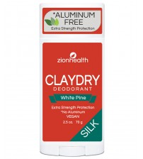 Clay Dry Silk - White Pine Vegan Deodorant
