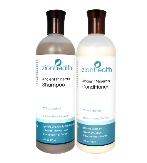 Zion Health White Coconut Natural Hair Package