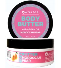 Body Butter with Argan Oil - Moroccan Pear
