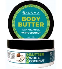 Body Butter with Argan Oil - White Coconut