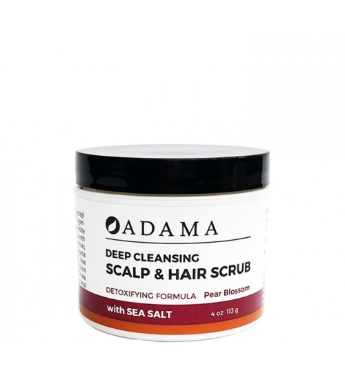 Adama Deep Cleansing Scalp & Hair Scrub with Sea Salt