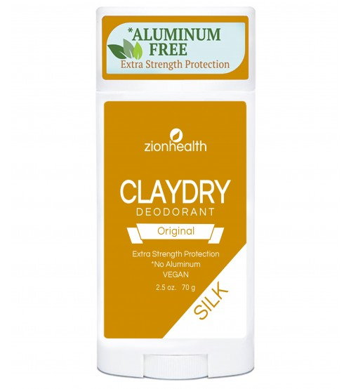 Clay Dry Silk - Original Vegan Deodorant
