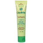 ClayBrite Toothpaste for gum problems, bad breath, and gum disease