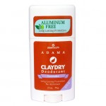 Adama Clay Dry Silk Lavender - Natural Deodorant and Odor Neutralizer