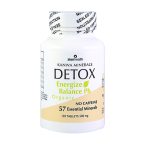 Whole Body Cleanse - Kanwa Detox Supplements for natural detox cleanse